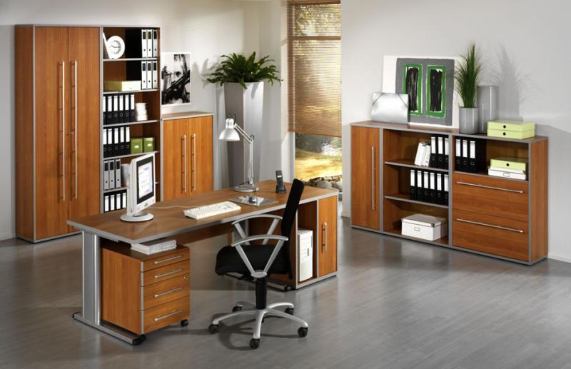 Büromöbel schrank buche  Wellemöbel Büromöbel-Kombination 3 TOOL, Buche-