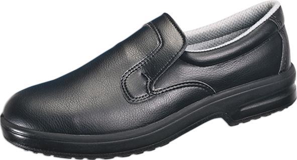 franz mensch Sicherheitsschuh Slipper S2, Größe: 42, schwarz