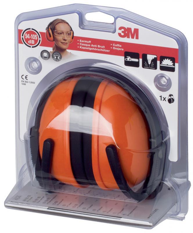 105 dB 1436C 3M Kapselgeh/örsch/ützer Orange