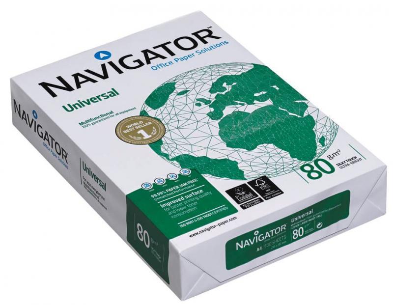 Navigator Multifunktionspapier Universal A4 80 G M Holzfrei Hochw